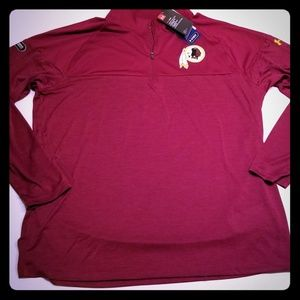 NEW Under Armour NFL Combine Redskins Pullover